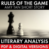 Rules of the Game, Amy Tan Short Story from Joy Luck Club, PDF & Google Drive