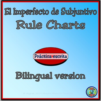 Rules of the Imperfect Subjunctive Notetaking Charts - Bilingual Version