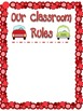 """Rules of the Road"" Classroom Rules Display/Management Activity"