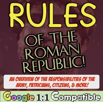 Rules of Roman Republic: Overview of Consuls, Slaves, Legions in Roman Republic!
