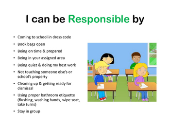 PBIS I can statements