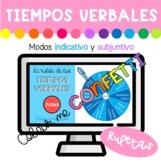 Ruletas de los tiempos verbales - Colour me Confetti