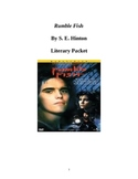 Rumble Fish by S. E. Hinton Literary Packet