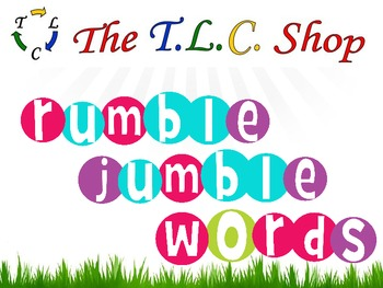 {DISCOUNTED ITEM} Rumble Jumble Words