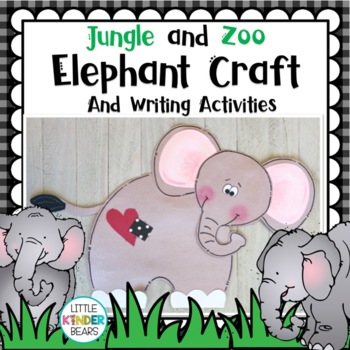 Rumble in the Jungle Elephant Craft or Zoo Craft