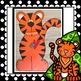 Jungle & Zoo:  Tiger Craft, Class Book and Writing Activities