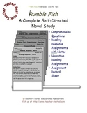 Rumble Fish: A Complete Novel Study