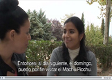 Rumbo a Machu Picchu 1 - Video and activities