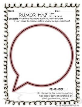 Rumor Has It...