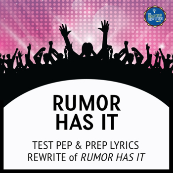 Testing Song Lyrics for Rumour Has It