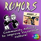 Rumors – Social Emotional Activity