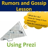 Rumors and Gossip Lesson