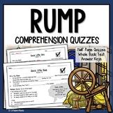 Rump Comprehension Questions (The True Story of Rumplestiltskin)