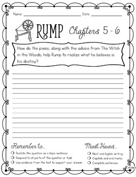 Rump: Text-Based Reading Responses