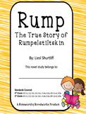 Rump - The True Story of Rumplestiltskin Novel Study / Guide