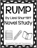 Rump by Liesl Shurtliff Novel Study
