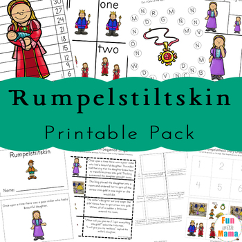 Rumpelstiltskin Activities and Worksheets
