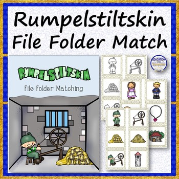 Rumpelstiltskin File Folder Matching