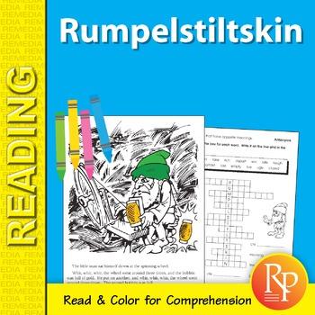Rumpelstiltskin: Read & Color