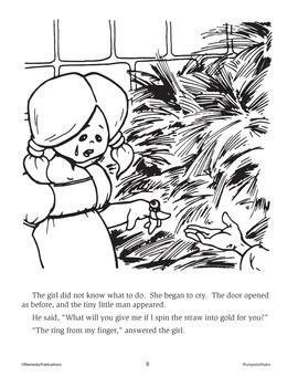 Rumpelstiltskin: Read & Color - Enhanced