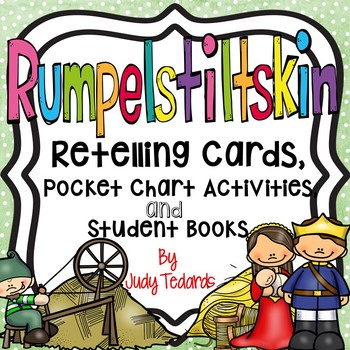 Rumpelstiltskin (Retelling Cards Activities and Student Books)