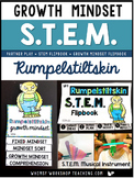 Rumpelstiltskin STEM Challenge and Growth Mindset Flip Book