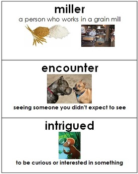 Rumpelstiltskin by Paul Zelinsky Vocabulary w/ Pictures