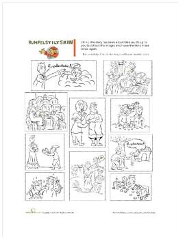 Rumpelstiltskin story and sequence activity