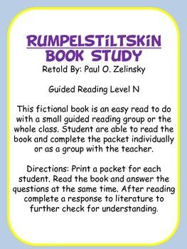 Rumplestilskin Book Study