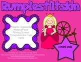 Rumplestiltskin Mini Unit~ Includes Graphic Organizers & Much More!