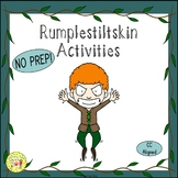 Rumplestiltskin Fairy Tales Worksheets Activities Games Pr