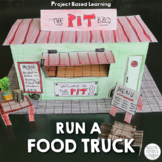 Run A Food Truck, Project Based Learning Activity (PBL) No