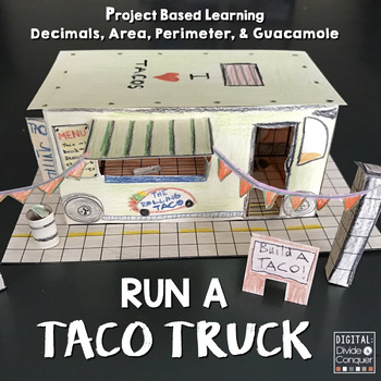 Run A Taco Truck Project Based Learning Activity PBL