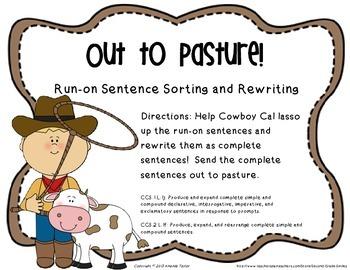 Identifying and Correcting Run-On Sentences