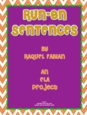 Run-On Sentences ELA Project (Common Core L.2.1 & L.2.2)
