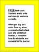 Run-On Sentences Free Practice Task Cards