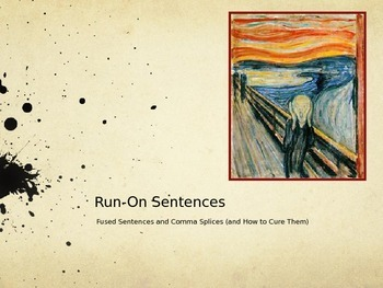 Run-On Sentences, and How to Cure Them