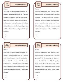 Run-Ons, Comma Splices, and Fragments: Ten-Minute Grammar Unit #18