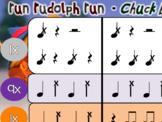 Run Rudolph Run, Chuck Berry - BUCKET DRUMMING!