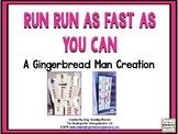 Gingerbread Man!  Gingerbread Man Math, Literacy And Writing!