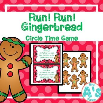Run! Run! Gingerbread Circle Time Game