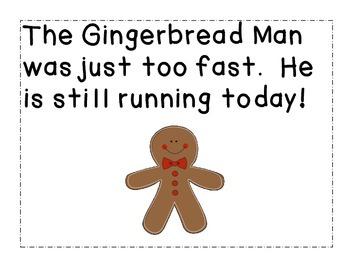 Run, Run Gingerbread Man