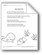 Run, Swim, Fly (A nonfiction article)