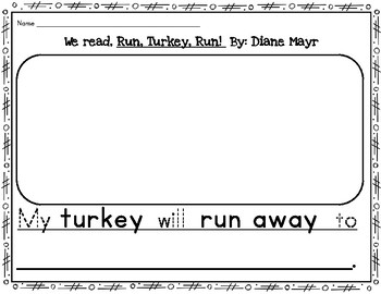 Run Turkey Run!