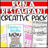 Run a Restaurant Writing Add-On: Menu