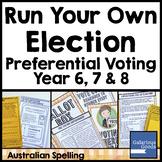 Run a Preferential Voting Election - Australian Government