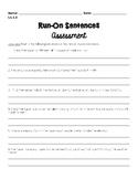 Run-on Sentence Assessment