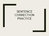 Run-on Sentence Correction Practice