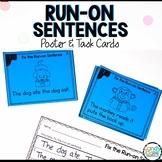 Run-on Sentences Activity: First Grade Grammar Practice for Centers