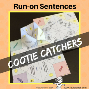 Run-on Sentences Cootie Catchers
